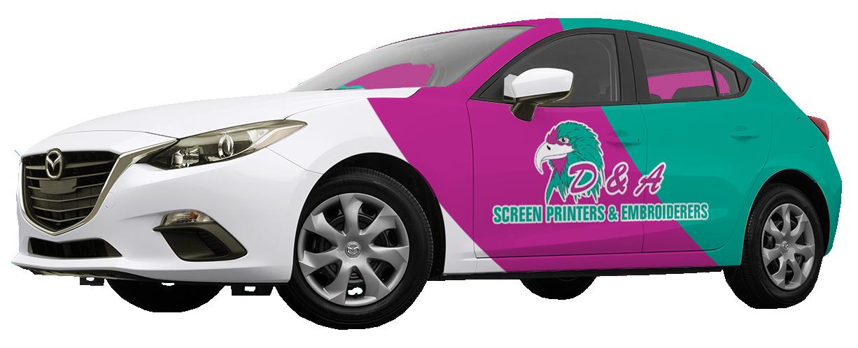 Vehicle Branding Wraps